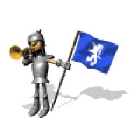 Watch and share Trumpet Blower Animated Gif Knight Ritter GIFs on Gfycat