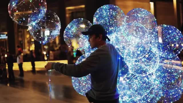 LED Balloons GIF | Find, Make & Share Gfycat GIFs
