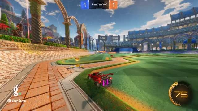 Watch Goal 3: Mit GIF by gifyourgame on Gfycat. Discover more Gif Your Game, GifYourGame, Goal, Mit, Rocket League, RocketLeague GIFs on Gfycat