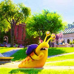 Monsters University Running Snail Gif Find Make Share Gfycat Gifs