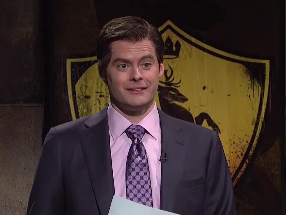 bill hader, comedy, finaly, funny, game, gif brewery, got, live, night, of, pissed, saturday, saturday night live, snl, thrones, yap, yes, SNL - Yes GIFs