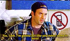 Watch beauty + friendship GIF on Gfycat. Discover more F-I-N-E!, THE BEST, and this is a scene my friends and i used to quote like nobody's business, c: luke danes, c: taylor doose, f: gilmore girls, gilmoregirlsedit, luke danes, michael winters, scott patterson, taylor doose, taylor x luke spats are my fave, this is a thing that i made GIFs on Gfycat