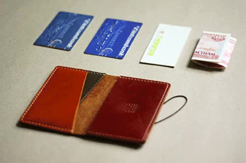 Watch Vi mini W2 / Slim fit wallet W2Vi kich thc nh co 3 ngn bng n GIF on Gfycat. Discover more handmade, leather, leathergoods, slim fit, thebandia, wallet GIFs on Gfycat