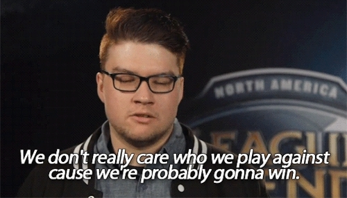 dyrus, god bless dyrus, league of legends, my gifs, na s15, teamsolomid, tsm, Dyrus explains why TSM isn't getting caught up in the race f GIFs