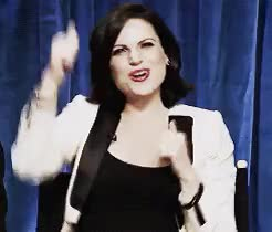 Watch this lana parrilla GIF on Gfycat. Discover more gif, lana parrilla, once upon a time, ouat, paleyfest 2013, you're so perfect GIFs on Gfycat
