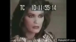 Gia Carangi vs. Angelina Jolie Interview comparison GIFs