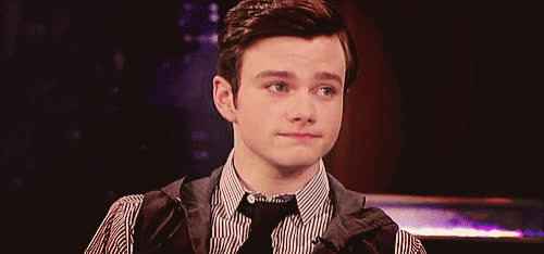 I, about, boohoo, chris, colfer, cry, disappointed, glee, nod, sad, see, to, understand, Sad Chris Colfer GIFs