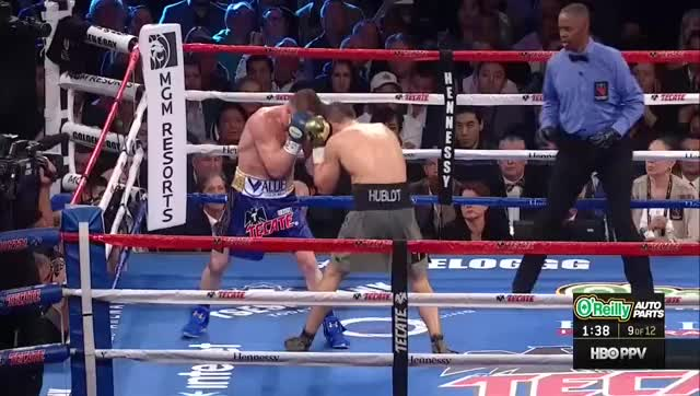 Watch Canelo Golovkin.mkv GIF on Gfycat. Discover more related GIFs on Gfycat