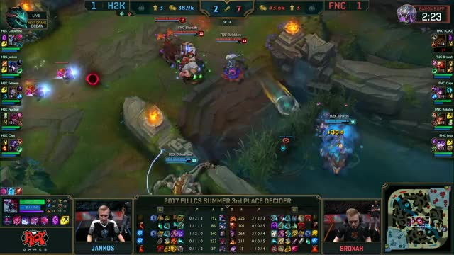 Watch LCS EU - FNC vs H2K GIF on Gfycat. Discover more related GIFs on Gfycat