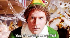 Watch and share Elf Christmas GIFs on Gfycat