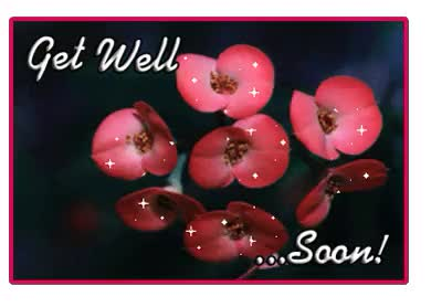 Watch and share Get Well Soon Beautiful Graphic animated stickers on Gfycat