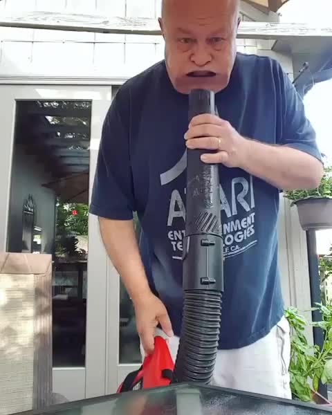 funny, grandparents, Vacuum grandpa GIFs