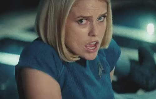Watch startrek into darkness carol marcus scream GIF on Gfycat. Discover more related GIFs on Gfycat
