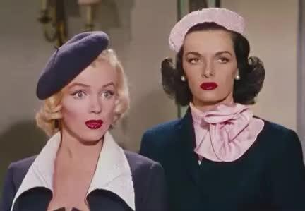 GIF Brewery, Katharine Hepburn, Marilyn Monroe, even, eye, funny, not, old, oldies, reaction, roll, snob, snobish, Funny eye roll GIFs