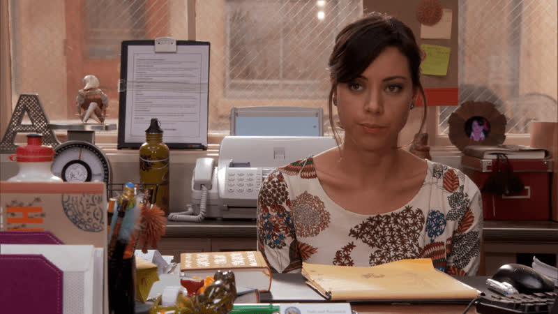 aubrey plaza, i love her, parks and rec, parks and recreation, I Love Her Aubrey Plaza GIFs