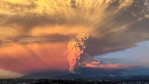 Watch and share Eruption GIFs and Calbuco GIFs on Gfycat