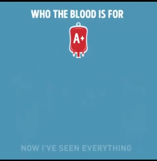 Watch and share Who Can Use Which Blood Types GIFs by hellsjuggernaut on Gfycat