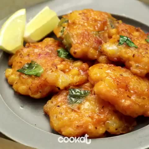 Watch and share Corn Shrimp Pancake GIFs by Z3F on Gfycat