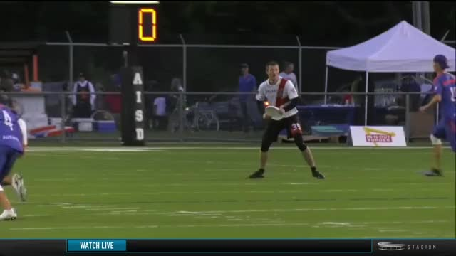 Watch and share Chris Mazur Massive Huck GIFs by American Ultimate Disc League on Gfycat