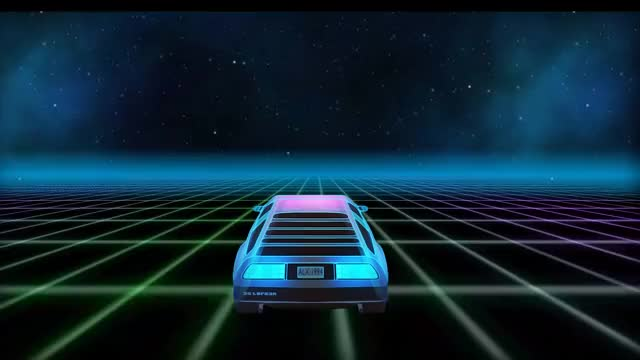 Watch and share An Outrun/Retrowave Grid That I Made In After Effects, Felt It Might Fit In On This Sub (reddit) GIFs by MrSenseOfReason on Gfycat