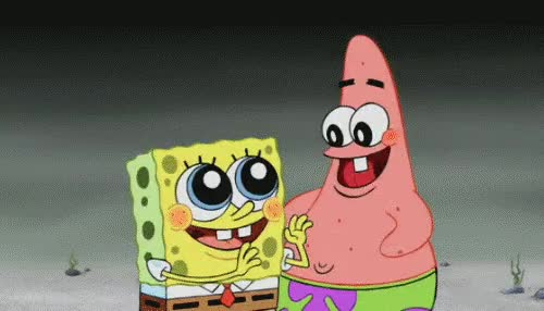 Watch this celebrate GIF by The GIF Smith (@sannahparker) on Gfycat. Discover more awesome, celebrate, excited, happy, hurray, patrick, spongebob, thrilled, yay GIFs on Gfycat