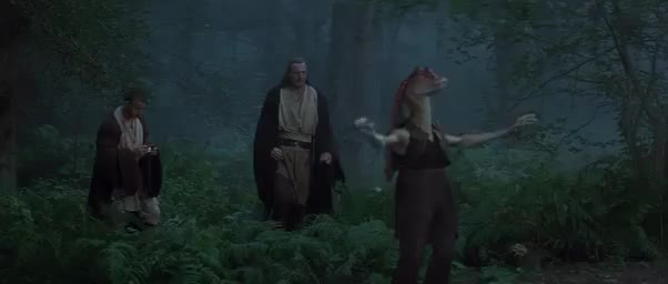 Watch [Theory] Jar Jar Binks was a trained Force user, knowing Sith collaborator, and will play a central role in The Force Awakens (reddit) GIF by @lumpawarroo on Gfycat. Discover more DarthJarJar, StarWars GIFs on Gfycat