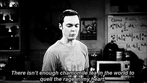 Watch and share Black And White Big Bang Theory Gif GIFs on Gfycat