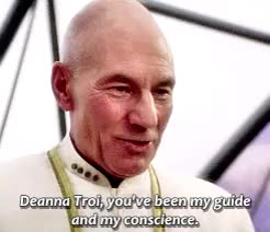Watch and share Jean Luc Picard GIFs and William Riker GIFs on Gfycat