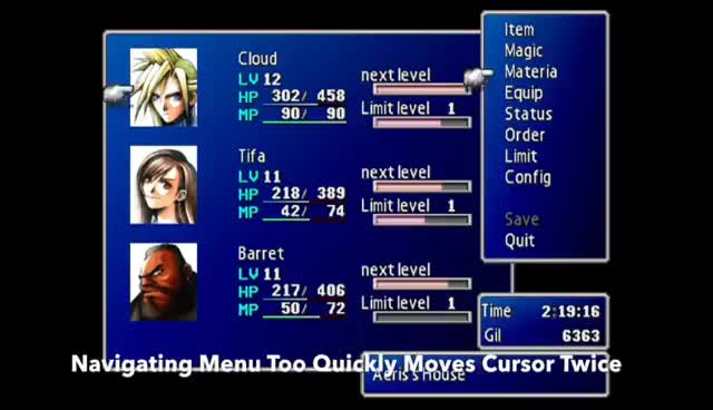 Watch and share FF7 PS4 PORT - BUGS BUGS BUGS GIFs on Gfycat