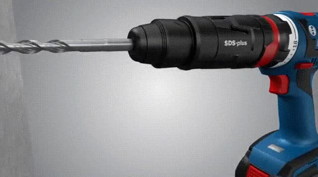 Watch and share This Cordless Drill's SDS-plus Hammer Attachment GIFs on Gfycat