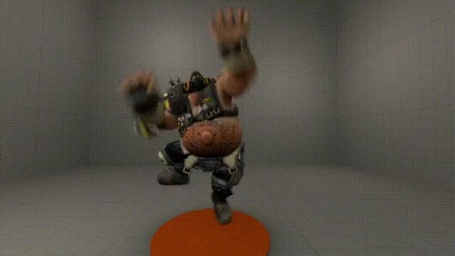 Watch and share Roadhog Using Genji's Wallrun GIFs on Gfycat