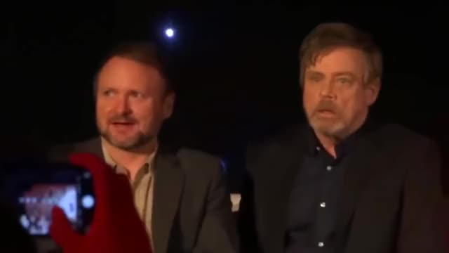 Watch and share Sad Mark Hamill GIFs and Rian Johnson GIFs on Gfycat