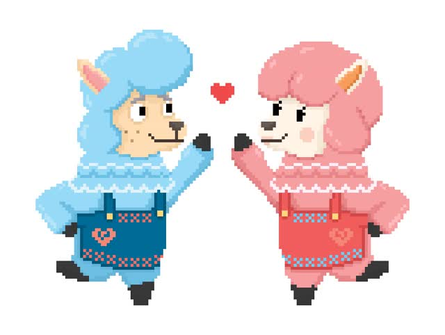 Watch and share Gaming, Reese And Cyrus, Nintendo, Acnl animated stickers on Gfycat