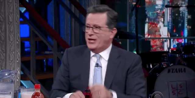 Watch and share Stephen Colbert GIFs and Sean Evans GIFs by davesmith229 on Gfycat