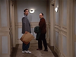 Kramergifs, kramergifs, Sorry we can't all afford to leave garbage in the hall, Professor High Brow. (reddit) GIFs