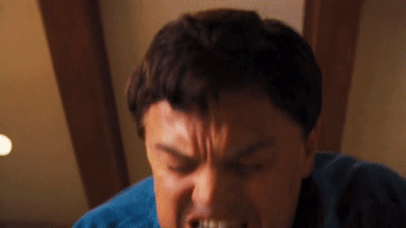 leo dicaprio, leonardo dicaprio, Leonardo DiCaprio Wolf of Wall Street Lube Ham GIFs