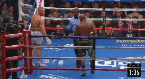 Watch Mayweather Crossface GIF on Gfycat. Discover more related GIFs on Gfycat