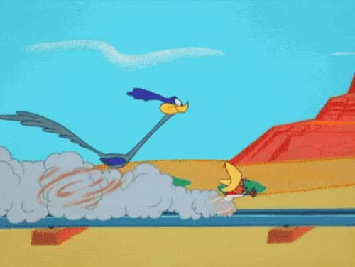 Watch and share The Bugs Bunny Show, Roadrunner, Wile E Coyote, Cartoon, Anime GIFs on Gfycat