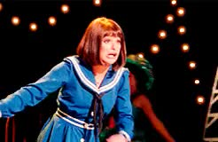 Watch pop six squish uh-uh cicero lipschitz GIF on Gfycat. Discover more barbra, barbra streisand, fanny brice, funny girl, glee, lea michele, opening night, rachel berry GIFs on Gfycat