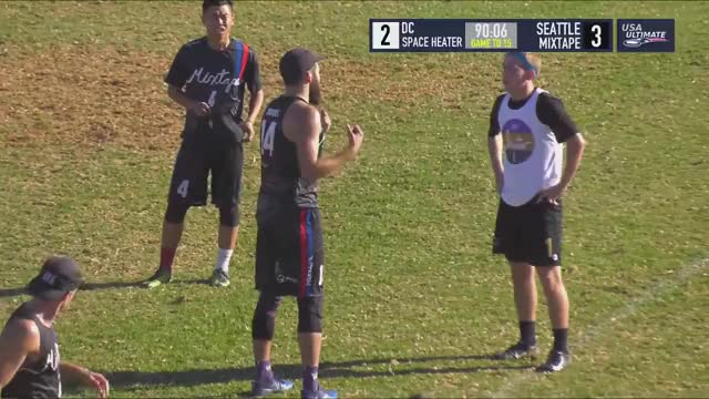 Watch 2018 National Championships: Washington D.C. Space Heater vs Seattle Mixtape GIF by @n8reiter on Gfycat. Discover more espn, flying disc, sports, team sports, ultimate, usa ultimate GIFs on Gfycat
