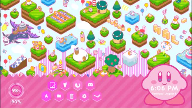Watch kirby rainmeter GIF by @goldenthunder5000 on Gfycat. Discover more related GIFs on Gfycat