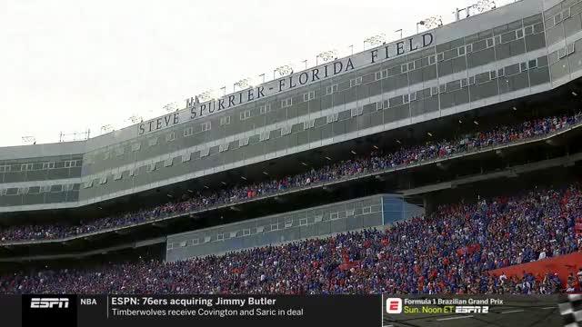 College Football: South Carolina at Florida | ESPN | Clippit