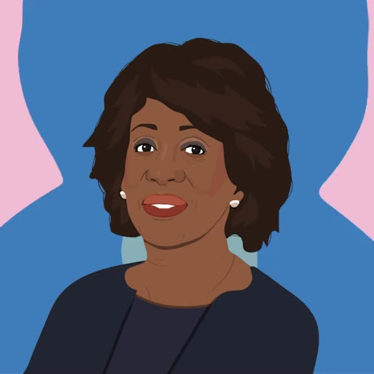 Watch this curated GIF by The GIF Smith (@sannahparker) on Gfycat. Discover more artist on tumblr, impeach 45, imstilljulie, maxine waters, reclaiming my time GIFs on Gfycat