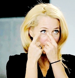 gaedit, gifs*, gillian anderson, je t'adore, my edit, my queen, Gillian Anderson being amazingly beautiful () GIFs