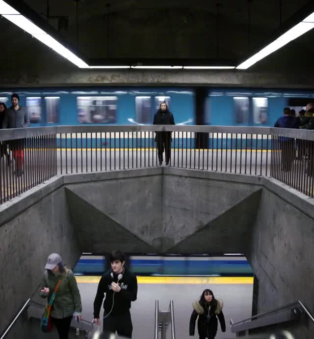 Watch and share Montreal Metro Loop #1 GIFs by AJ LOOPS THINGS on Gfycat