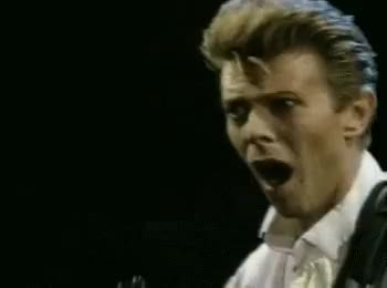 Watch and share Shocked David Bowie GIFs on Gfycat