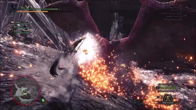 Watch teostra multiplayer dunk GIF on Gfycat. Discover more related GIFs on Gfycat