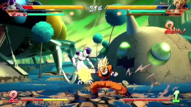 Watch and share Dragon Ball FighterZ - Gameplay Session 01 GIFs by KOBAKZOOK on Gfycat