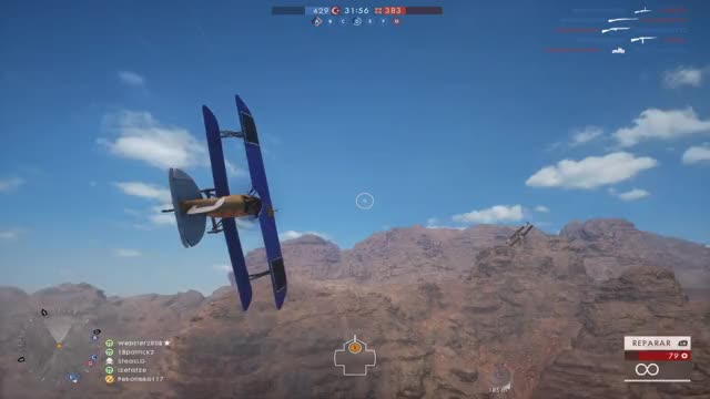 Watch Battlefield 1: Intense Dogfight! [GIF] (reddit) GIF on Gfycat. Discover more battlefield_one GIFs on Gfycat