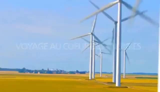 Watch and share Le Fonctionnement D'une Centrale Éolienne GIFs on Gfycat
